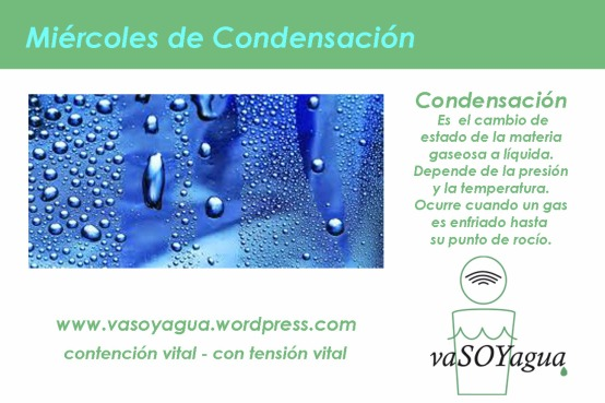 miercoles de condensacion